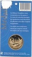Médaille Et  Patrimoine  Ville, Hospices  De  BEAUNE  ( 21 )  Plaqué  OR  24  Carat  Recto  Verso - Touristiques