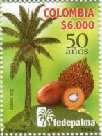 Lote 2747, Colombia, 2012, Selllo, Stamp, Federacion De Cultivadores De Palma, Palm Growers Federation. Fruit - Colombia