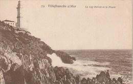 Carte Postale Ancienne - Villefranche Sur Mer - Le Cap Ferrat Et Le Phare - Barche