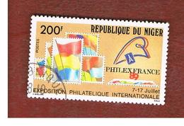 NIGER  -  SG 1167  -  1989 PHILEXFRANCE '89, INT. STAMP EXN.   -  USED * - Niger (1960-...)