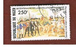 NIGER  -  SG 1168  -  1989 FRENCH REVOLUTION BICENTENARY   -  USED * - Niger (1960-...)