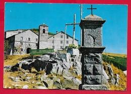 CARTOLINA VG ITALIA - SAN PELLEGRINO IN ALPE (LU) - Santuario E Ospizio - 10 X 15 - 1974 PETRARCA - Chiese E Conventi