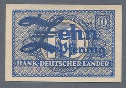 P12a Ro251a WBZ-12a. 10 Pfennig 1948 UNC NEUF - [ 7] 1949-… : RFD - Rep. Fed. Duitsland