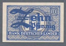 P12a Ro251a WBZ-12a. 10 Pfennig 1948 UNC NEUF - [ 7] 1949-… : RFA - Rep. Fed. Tedesca