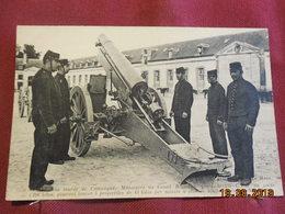 CPA - Artillerie Lourde De Campagne - Manoeuvre Du Canon Rimailho De 155 Mm - Ausrüstung