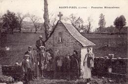 SAINT-PAUL FONTAINE MIRACULEUSE TRES ANIMEE - Autres Communes