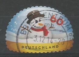 BRD 2014  Mi.Nr. 3113 , Weihnachten - Selbstklebend / Self-adhesive  - Gestempelt / Fine Used / (o) - Gebraucht