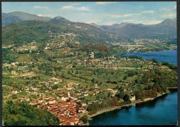 Caslano - Panorama Da Sassalto 1977 - TI Ticino