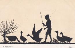 CPA 1926 - Illustrateur F.KASKELINE - Silouhette - 1959/2  (lot Pat 81) - Kaskeline