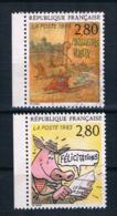 Frankreich 1993 Mi.Nr. 2988/90 Gestempelt - Gebraucht