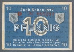 PS1002 Ro209d FBZ-2d. 10 Pfennig 1947 UNC NEUF - 1945-1949: Alliierte Besatzung