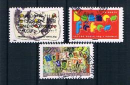 Frankreich 2012 Mi.Nr. 5466/70/72 Gestempelt - Frankreich