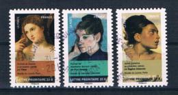 Frankreich 2012 Mi.Nr. 5294-96 Gestempelt - Frankreich
