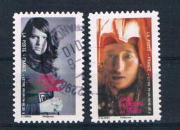 Frankreich 2010 Mi.Nr. 4849/53 Gestempelt - Frankreich