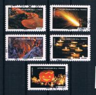Frankreich 2012 Mi.Nr. 5433/34/37/40/41 Gestempelt - Frankreich