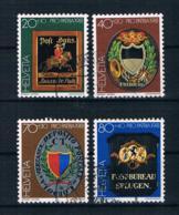 Schweiz 1981 Mi.Nr. 1199/202 Kpl. Satz Gestempelt - Gebraucht