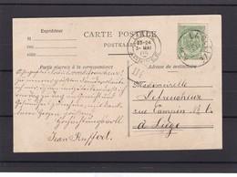 N° 83 / Carte De LA GLEIZE - 1893-1907 Wapenschild