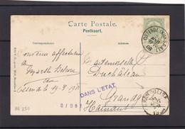 N° 83 / Carte De OSTENDE ( KURSAAL ) - 1893-1907 Wapenschild
