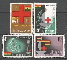 GHANA CROIX ROUGE N° 131 à 13 NEUF** LUXE SANS CHARNIERE / MNH - Ghana (1957-...)