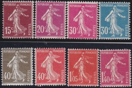 France  .    Yvert  .     189/196      .  **   .     Neuf  SANS  Charniere  .   /   .  MNH - France