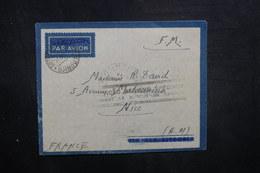 CÔTE DES SOMALIS - Enveloppe En Fm De Djibouti En 1941 Pour La France, Cachet De Blocus , à Voir - L 40505 - Lettres & Documents