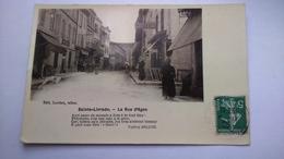 Carte Postale ( Y1 ) Ancienne De Saint Livrade , La Rue D Agen - France