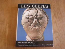 LES CELTES Histoire Beaux Arts Art Celtique Objets Bijoux Parures Univers Des Formes Celtiques Age Du Fer Gaule Europe - Histoire