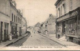 JONCHERY SUR VESLE PLACE DES MARCHES GRANDE RUE - Jonchery-sur-Vesle