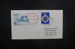 BELGIQUE - Enveloppe De Ostende Pour L 'Allemagne Par Poste Privée De Londres En 1971, à Voir - L 40507 - Belgium