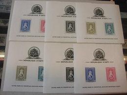 Haiti 1942 Block 1-3 A/B Postfrisch Heilige Jungfrau 6 Blocks Karibik Madonna - Haiti