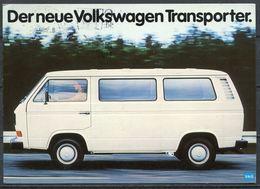 "Germany 1980 Sonder Werbekarte Volkswagen Transporter M.Mi.Nr.849 ""Eckernförde-Bremmervörde""1 Karte Used - Transporter & LKW"