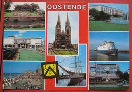 8200 Gleisdorf - Ansichtskarte Von Oostende Mit Nachporto / Nachgebühr / Nachtaxiert 1990 - Strafport