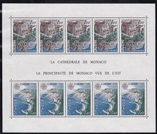 1978, Monaco, 1319/20 Block 12, Europa: Baudenkmäler. MNH ** - Blocks & Sheetlets