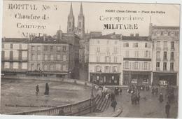 Deux  Sevres :  NIORT  : Place  Des   Halles  ( Tampon  Militaire ) - Niort