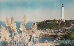 Carte Postale Des Années 50 De Biarritz - Le Phare - Barche