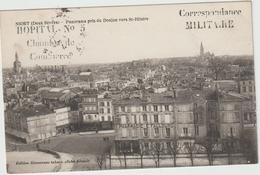 Deux  Sevres :  NIORT  : Vue   Vers   St  Hilaire   ( Tampon  Militaire ) - Niort