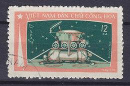 Vietnam 1971 Mi. 673    12 Xu Luna Lunochod Auf Dem Mond - Vietnam