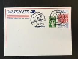 Boulogne Sur Mer Challenge Pasteur 2001 Entier Postal - Louis Pasteur