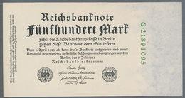 P74c Ro71c DEU-82b. 500 Mark 7.7.1922 AUNC+ - [ 3] 1918-1933 : République De Weimar