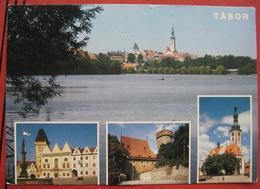 8240 Friedberg - Ansichtskarte Von Tabor Mit Nachporto / Nachgebühr / Nachtaxiert 1991 - Strafport