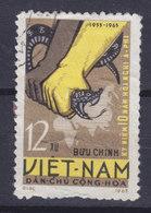 Vietnam 1965 Mi. 365    12 Xu Afro-Asiatischen Konferenz, Bandung Schlange Haltende Hände Vor Karte Map Asiens & Afrika - Vietnam
