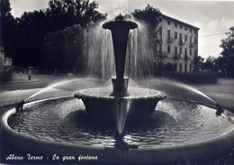Albano Terme - La Gran Fontana - Formato Grande Viaggiata – E 13 - Padova