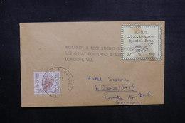 BELGIQUE - Enveloppe De Bruxelles Pour L 'Allemagne Par Poste Privée De Londres En 1971, Voir Vignette - L 40524 - Belgium
