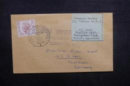 BELGIQUE - Enveloppe De Bruxelles Pour L 'Allemagne Par Poste Privée De Londres En 1971, Voir Vignette - L 40525 - Belgium