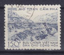 Vietnam 1959 Mi. 94    150 D Steinkohlebergwerk Cam Phá - Vietnam