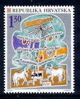 CROATIA 1995 Christmas MNH / **.  Michel 353 - Croatie