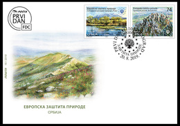 Serbia 2019. European Nature Protection, Special Nature Reserve Rtanj, Monument Of Nature, FDC, MNH - Vegetables