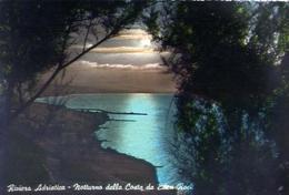 Riviera Adriatica - Notturno Della Costa De Eden Rock - Formato Grande Viaggiata – E 13 - Rimini