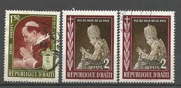 LOT HAÏTI NEUF* ET OBL - Haïti