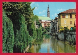 CARTOLINA VG ITALIA - VICENZA - Fiume Retrone Con Basilica Palladiana - 10 X 15 - 1971 - Vicenza